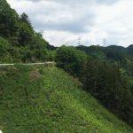 入山峠[八王子]~絶景と落石の林道へ
