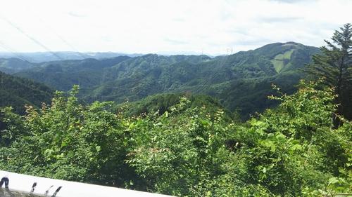 20160610梅野木12頂上の景色