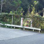 城山湖[雨降林道]~勾配22%の標識はヒルクラ初心者の心を折るには十分