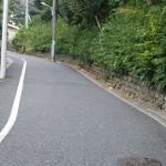 小島善太郎記念館の坂