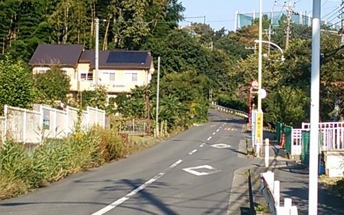 小野路の坂