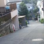 生田東高入口の坂