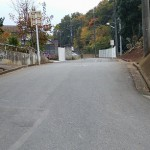 光蔵寺の坂